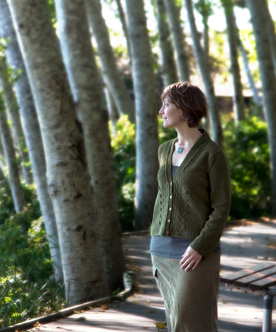 Cultivar Cardigan-Downloadable knitting pattern-Tricksy Knitter