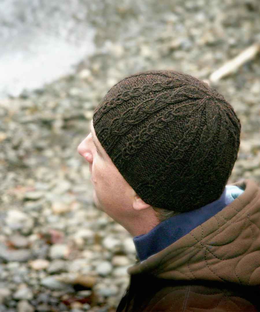 Ferguson Beanie-Downloadable knitting pattern-Tricksy Knitter