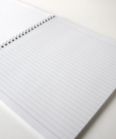Knitter's Notebook with Lined Paper