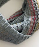 Minno Cowl-Downloadable knitting pattern-Tricksy Knitter