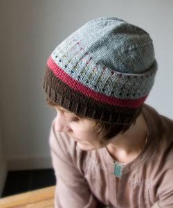 Minno Hat-Downloadable knitting pattern-Tricksy Knitter