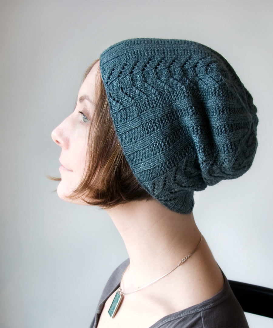 Paravel Hat-Downloadable knitting pattern-Tricksy Knitter