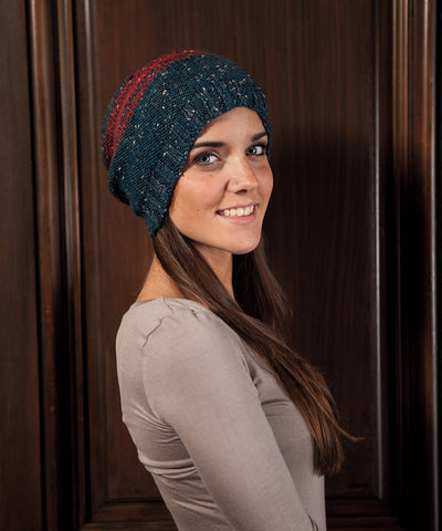 Sloane Hat-Downloadable knitting pattern-Tricksy Knitter