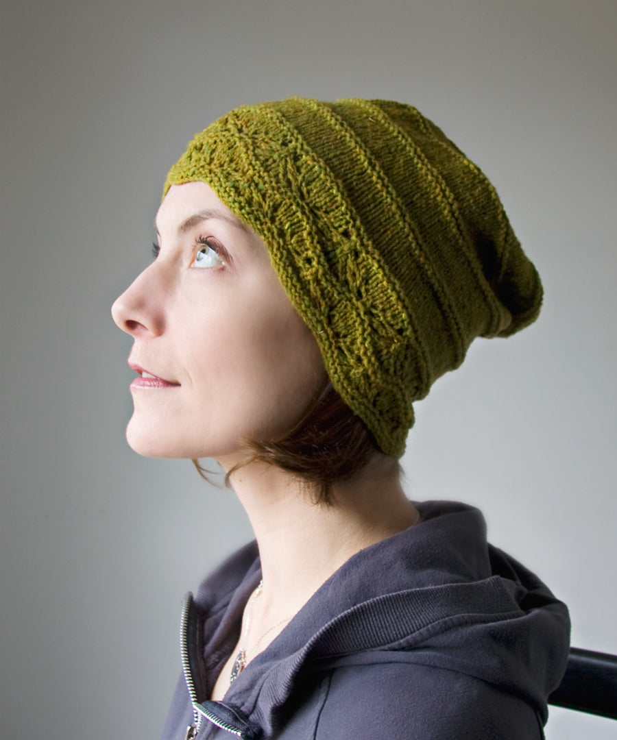 Strathcona Beanie-Downloadable knitting pattern-Tricksy Knitter