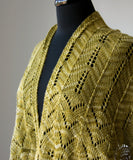 Sweet Oak Shawl-Downloadable knitting pattern-Tricksy Knitter