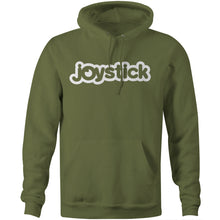 Joystick Bubble Logo Hoodie - Military Green