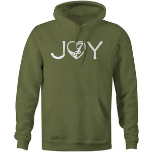 Joystick Love and Joy Hoodie - Military Green