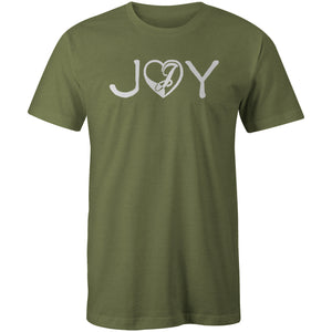 Joystick Love and Joy Tee - Military Green