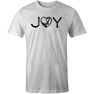 Joystick Love and Joy Tee - White