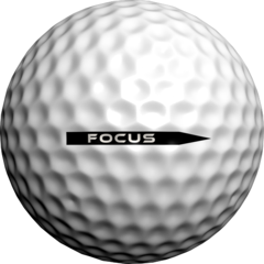 Accuracy Focus Putting Alignment Aid - Golfdotz