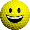 Ballmoji Smiley - Golfdotz