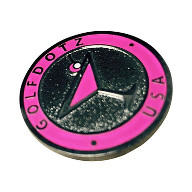 Custom Pink Cocktail Ball Marker