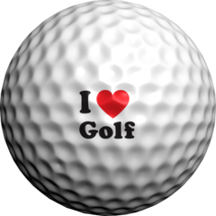I Heart Golf  - Golfdotz