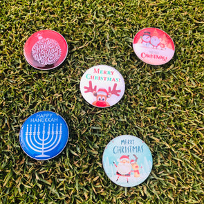 Holiday Limited Edition Golfdotz Design Ball Markers.