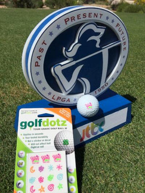 LPGA Girls Golf Official Logo set - Golfdotz