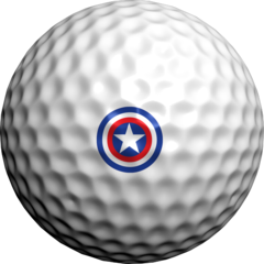 Patriot Star  - Golfdotz