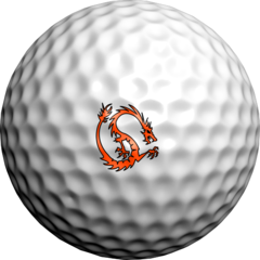 NEON Orange Sabbatini Dragon - Golfdotz
