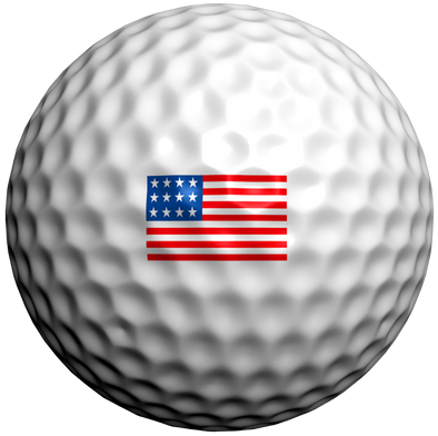 USA Flag - Golfdotz