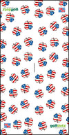 "Custom Golfdotz USA Clover Tour Towel 22"" X 40"""