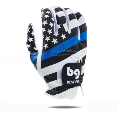 THIN BLUE LINE MESH GOLF GLOVE