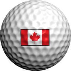 Canadian Flag - Golfdotz