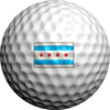 Chicago Flag - Golfdotz