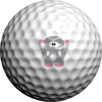 Ellie The Elephant - Golfdotz
