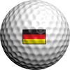 German Flag - Golfdotz