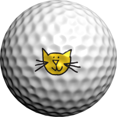 Happy Cat - Golfdotz