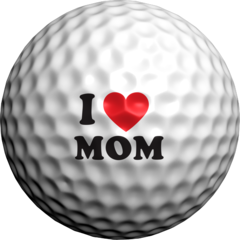 I Heart Mom - Golfdotz