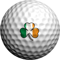 Irish Shamrock - Golfdotz