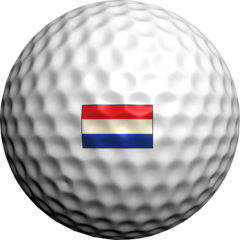 Netherlands Flag (Dutch) - Golfdotz