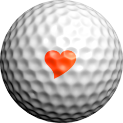 NEON Love Hearts - Golfdotz
