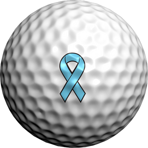 Prostate Cancer Awareness Ribbon - Golfdotz
