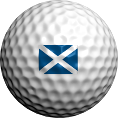 Scottish Flag - Golfdotz