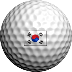 South Korean Flag - Golfdotz