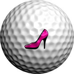 Pink Stiletto  - Golfdotz