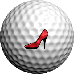 Red Stiletto  - Golfdotz