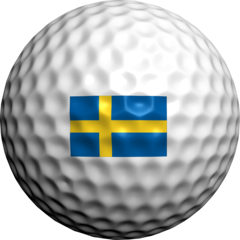 Swedish Flag - Golfdotz