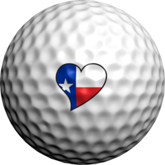Texas Heart - Golfdotz