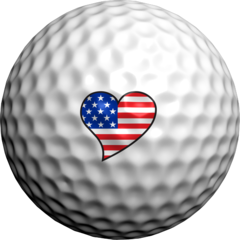 Love USA  - Golfdotz