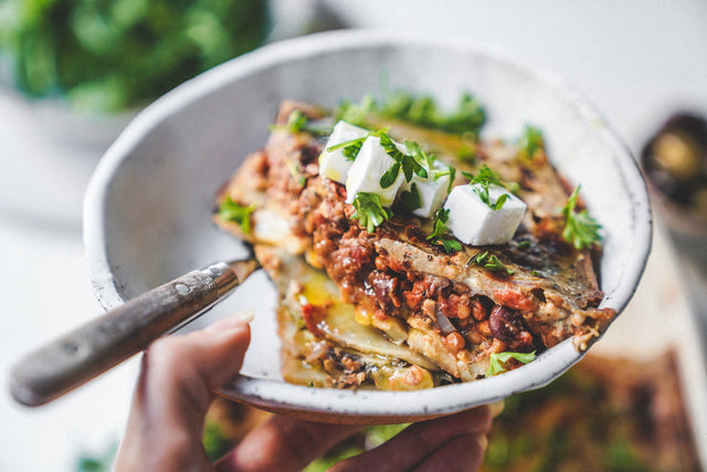Plant Based Greek Moussaka