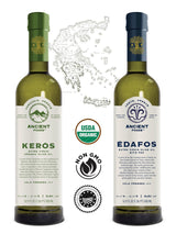 Ancient Foods Olive Oil Bundle – KERÓS & ÉDAFOS 17oz Bottles