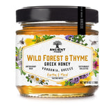 Greek Wild Forest and Thyme Honey - 8oz