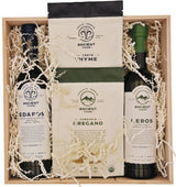 KERÓS & ÉDAFOS Olive Oils and Oregano & Thyme Herbs, Gift Box