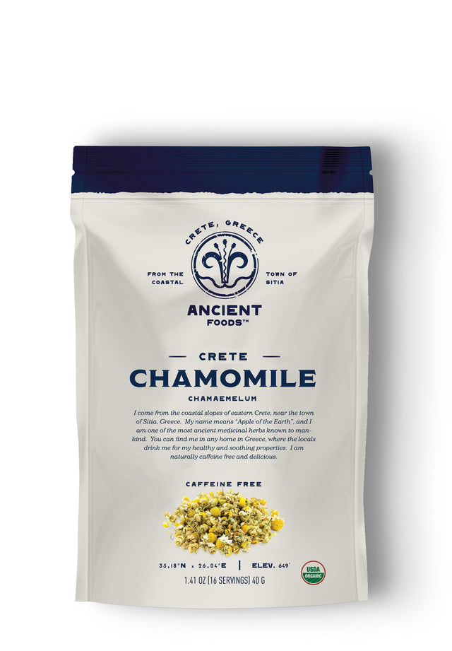 Cretan Organic Chamomile - Herbal Tea