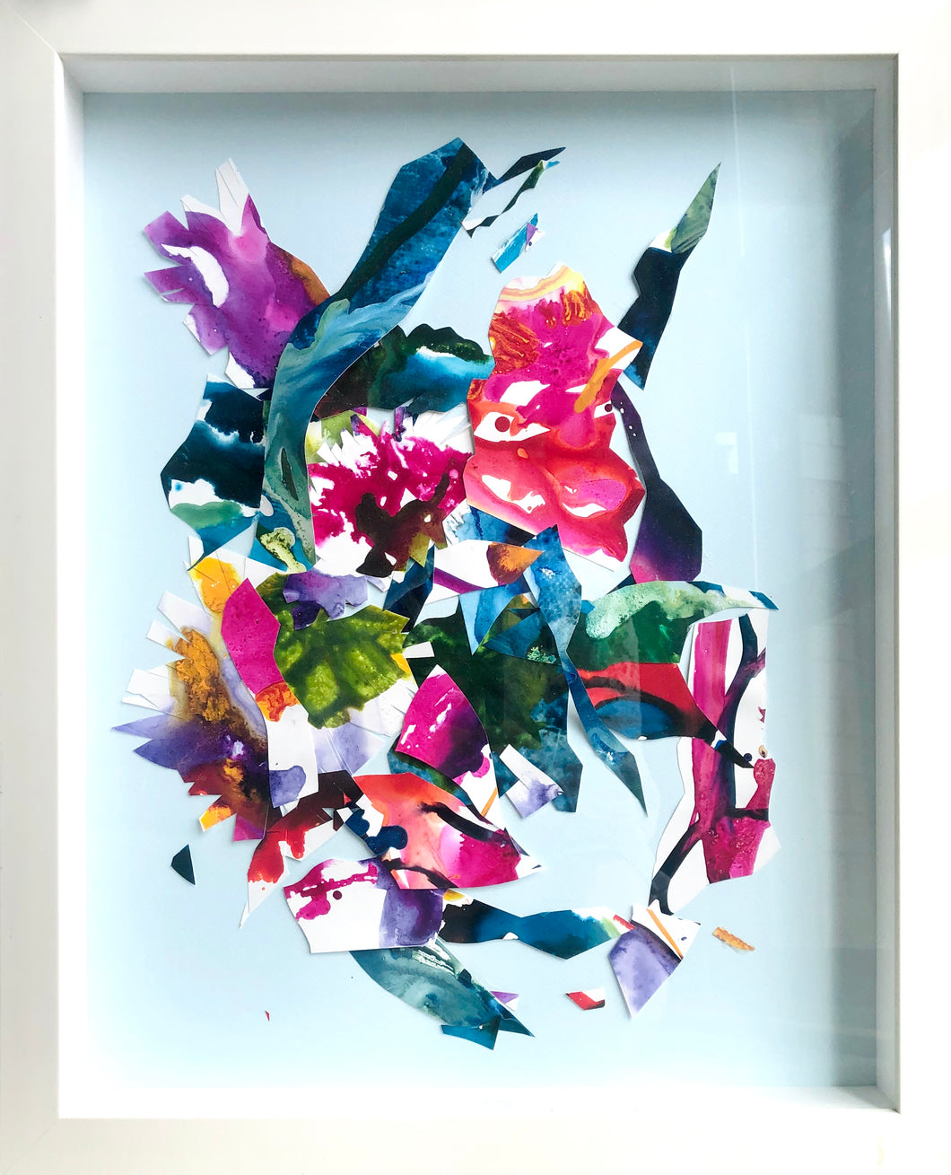 Bouquet Toss - Original Art