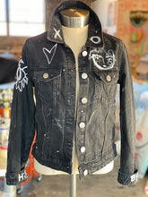 Chica Denim Jacket - Black