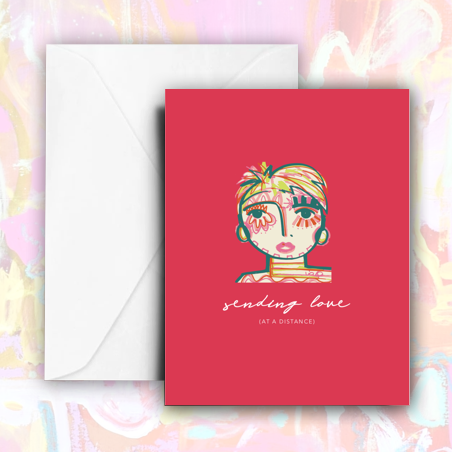 Sending Love - Stationery Set
