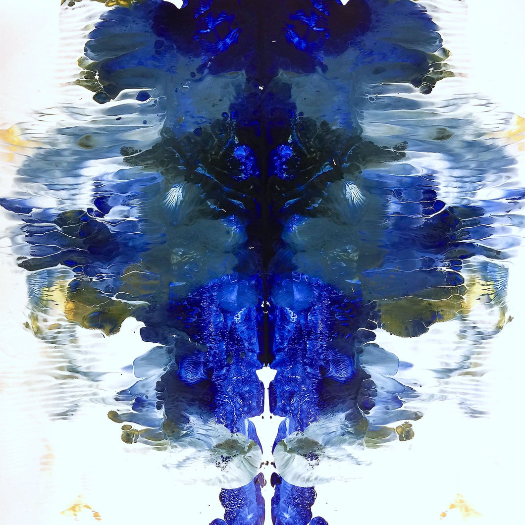 Rorschach Blues — Wallpaper